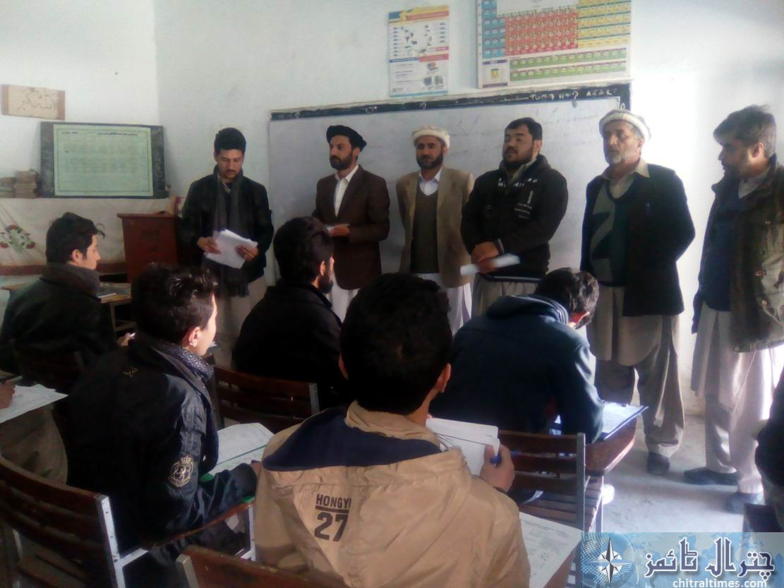 Osama career academy and gcmhs chitral test 1