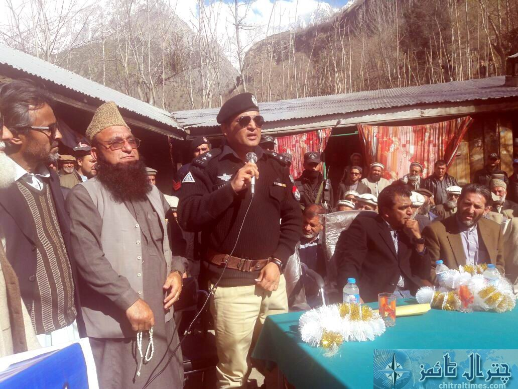 Broze protest ended chitral2