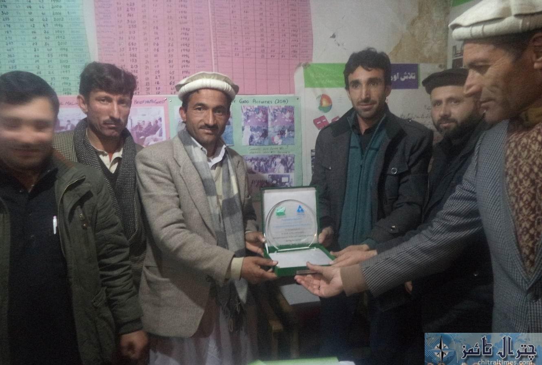 GADO chitral received award