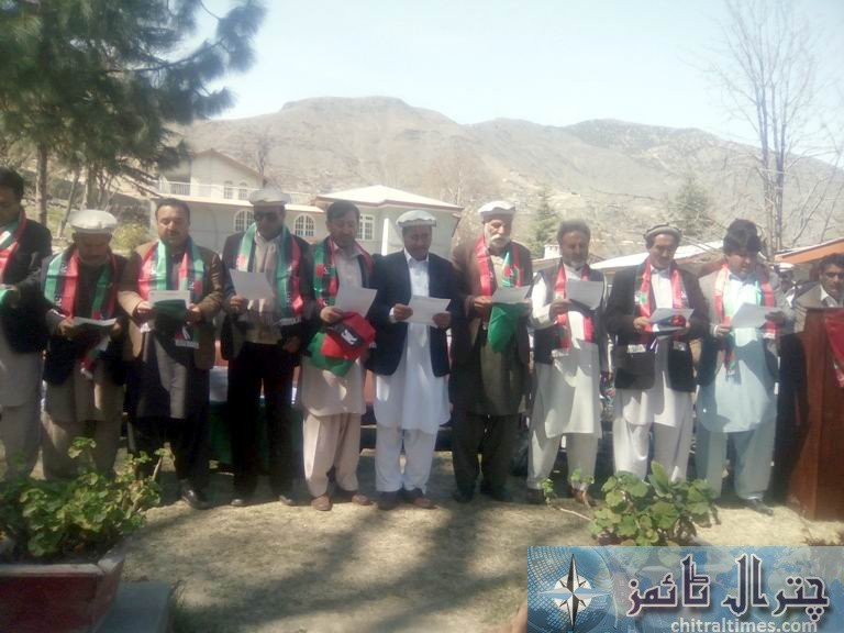 PPP upper chitral new office bearer selected
