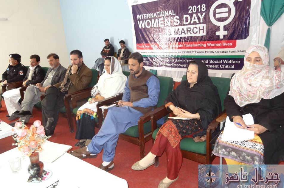 international women day chitral