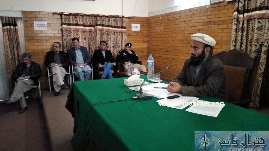 molana shokor chitral council