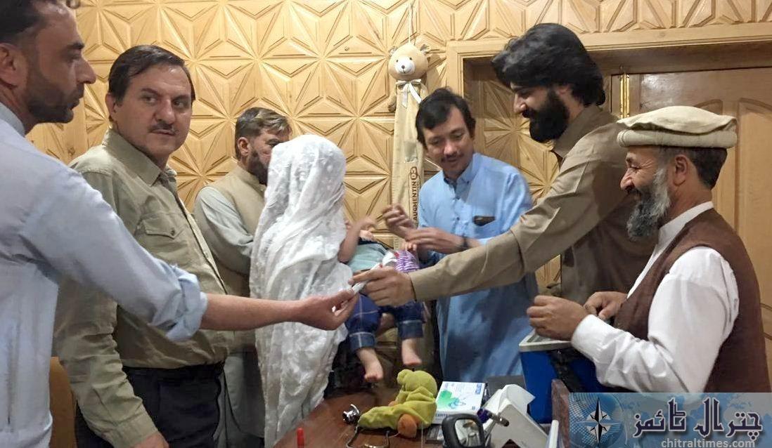 chitral anti polio campaign