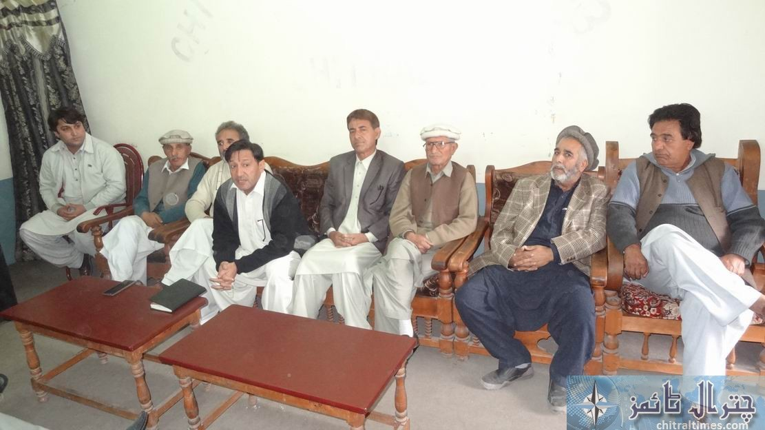 ppp chitral press confrence