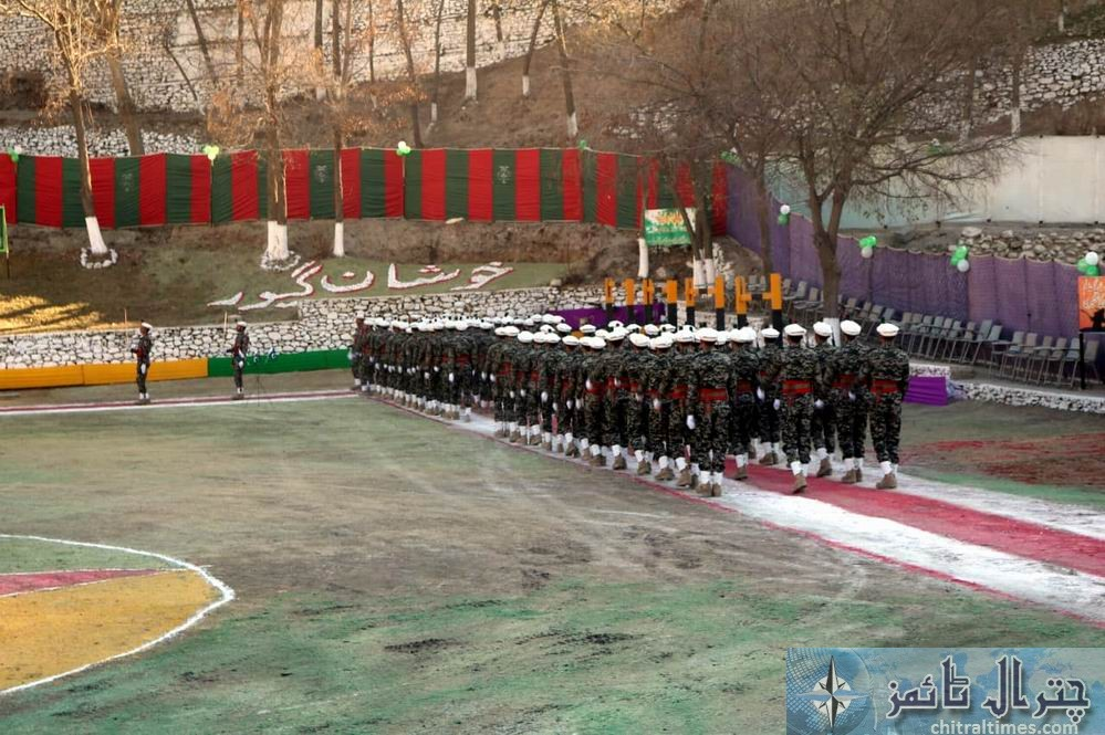 chitral scouts passing out parade drosh 1