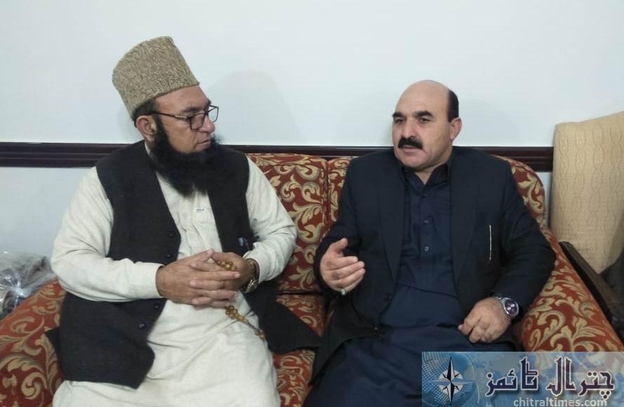 Molana chitrali and fida khan fida minister gb 1