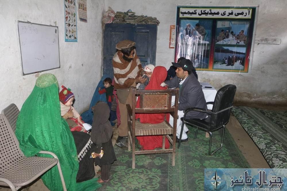 Army chitral free medical camp 2
