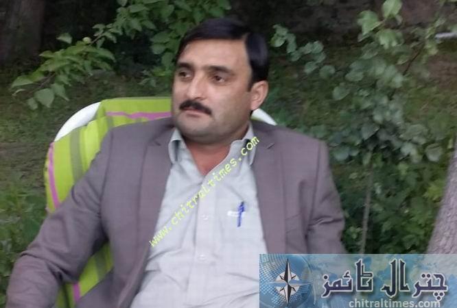 engr Riaz wali shah chitral