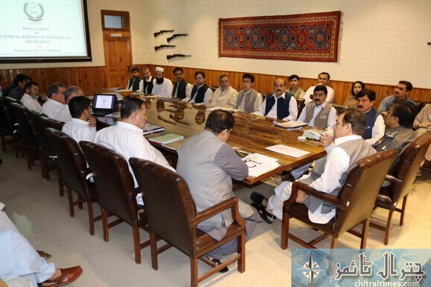 commissioner malakand riaz chaired a meeting