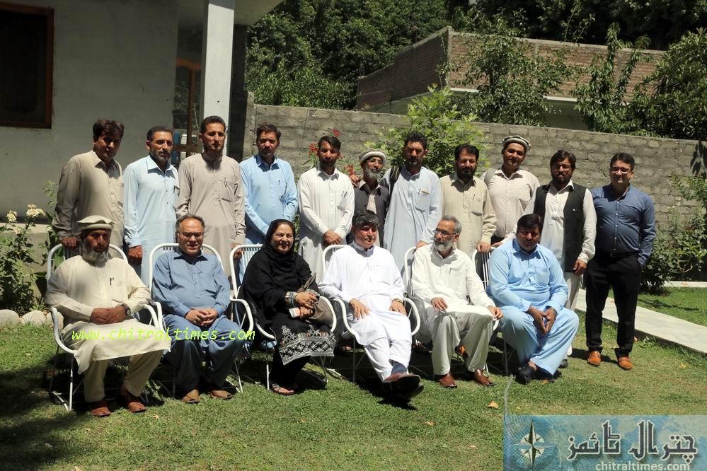fli training workshop chitral text book board trainig