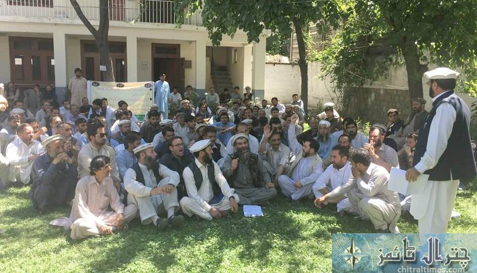 protest all employs coordinantion counncil chitral1