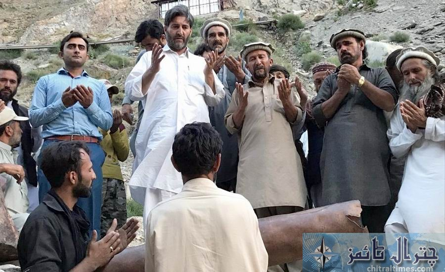 barghozi water supply scheme restored by Dn Chitral