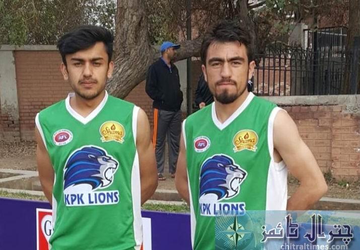 Chitrali footballer of KP lines 6