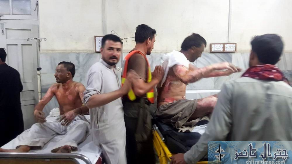 ayun gas celendar dhamaka 8person wounded 4