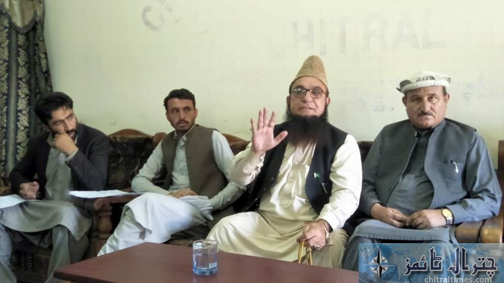 molana chitrali press confrence against miss carry 1