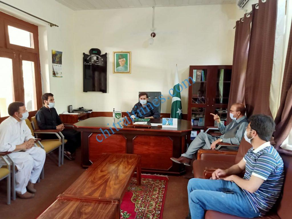 adc upper chitral meeting on telenor scaled