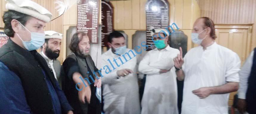 ahmad khan niazi visit to chitral 3