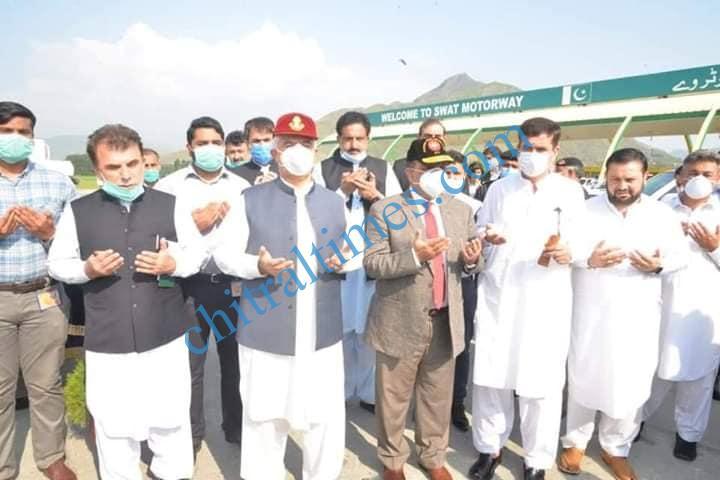 cm inaugurated swat motorway