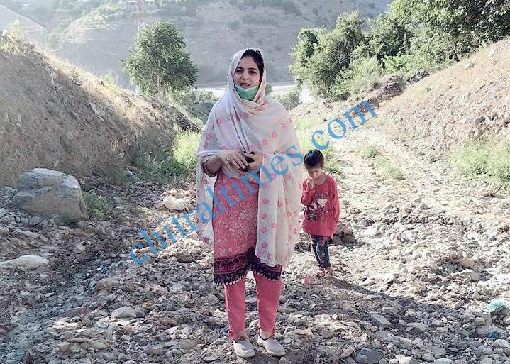 drosh kaldam nala flood damages 3 khadija