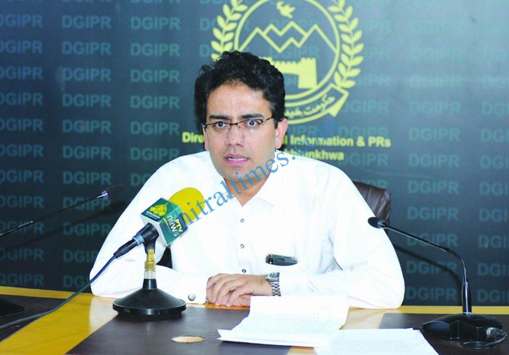 kamran Special Assistant to CM on Information Local Govt scaled