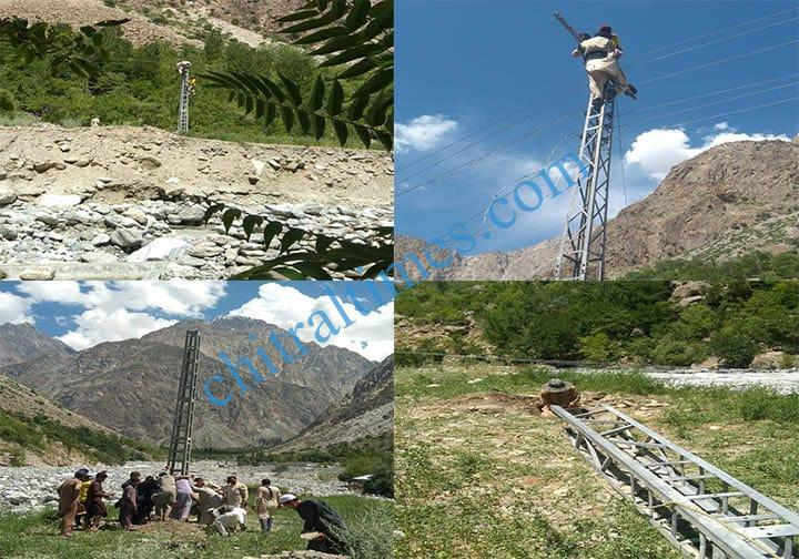 srsp restored electricity in golain