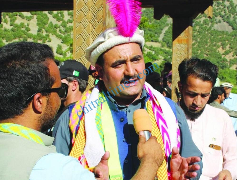 KP Special Assistant to CM on Mineraties wazir zada kalash festival