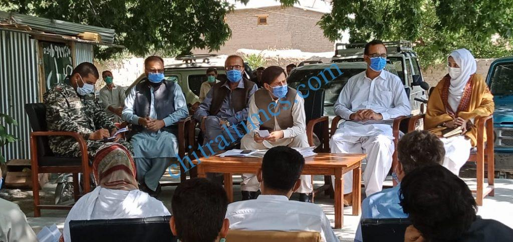 adc upper chitral meeting on glof scaled