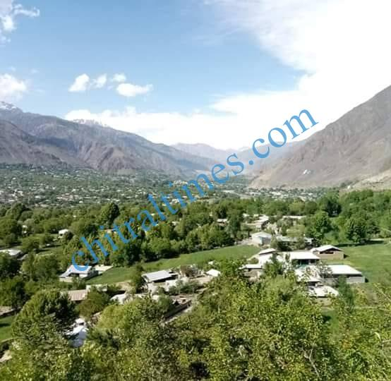 chitral town with jughoor