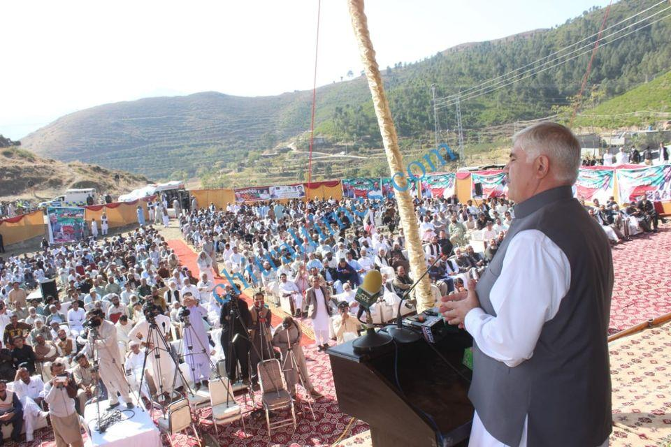 CM visit to swat mahmood khan and murad saeed23