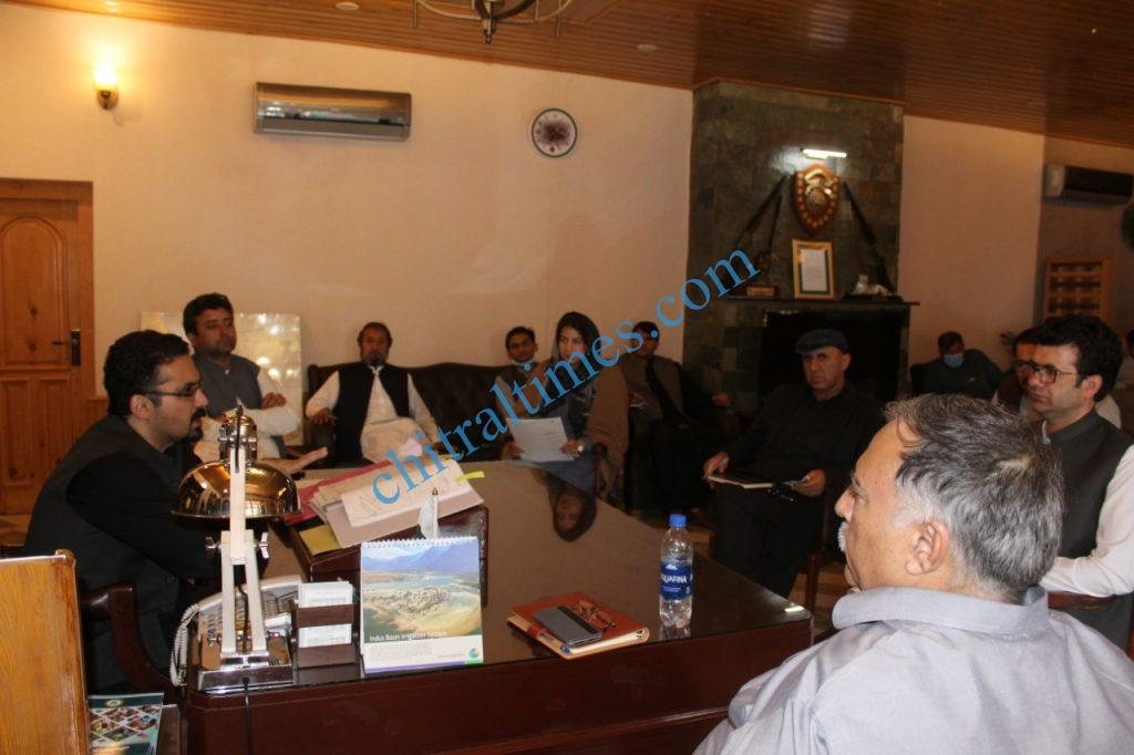 nha gm chitral dc office meeting scaled