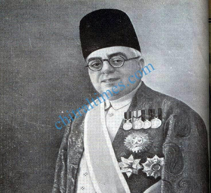 His Royal Highness Sir Aga Khan III in ceremonial dress