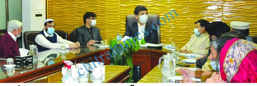 Minister Education with private schools