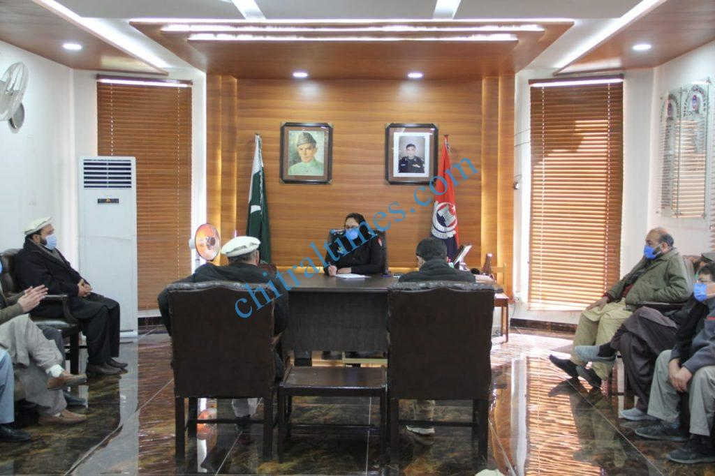 DPO dawat e azeemat chitral meeting scaled