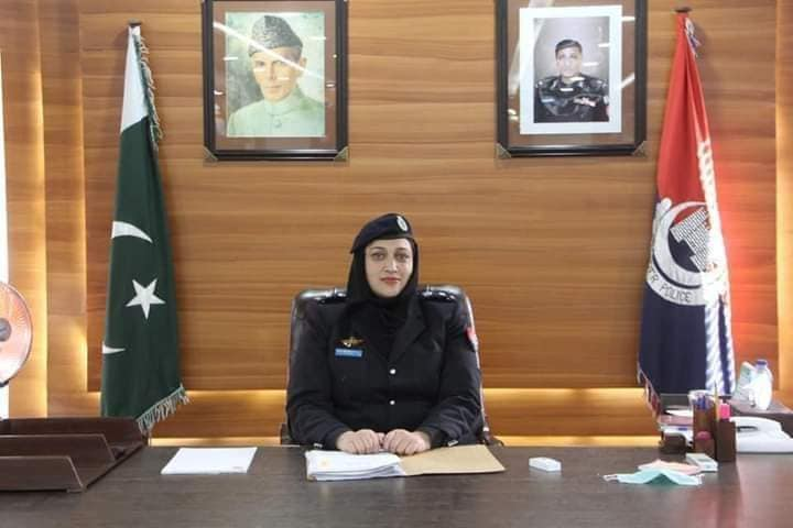 dpo chitral sonia shamroz khan psp resumed charged as dpo chitral lower
