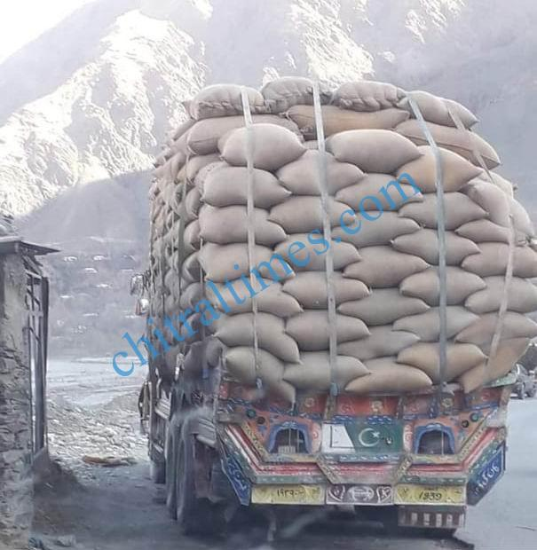 truck load chitral