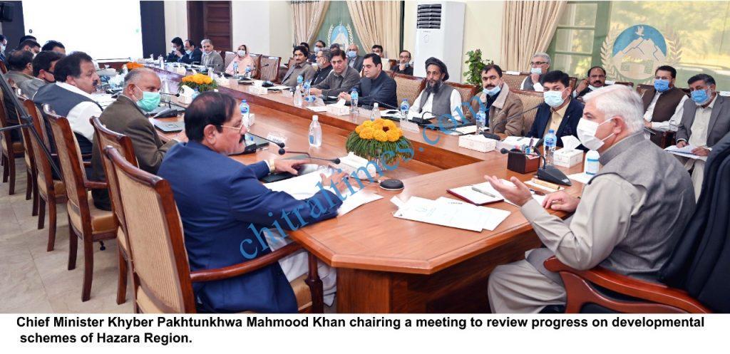 CM kp abotabad visit of Hazar division scaled
