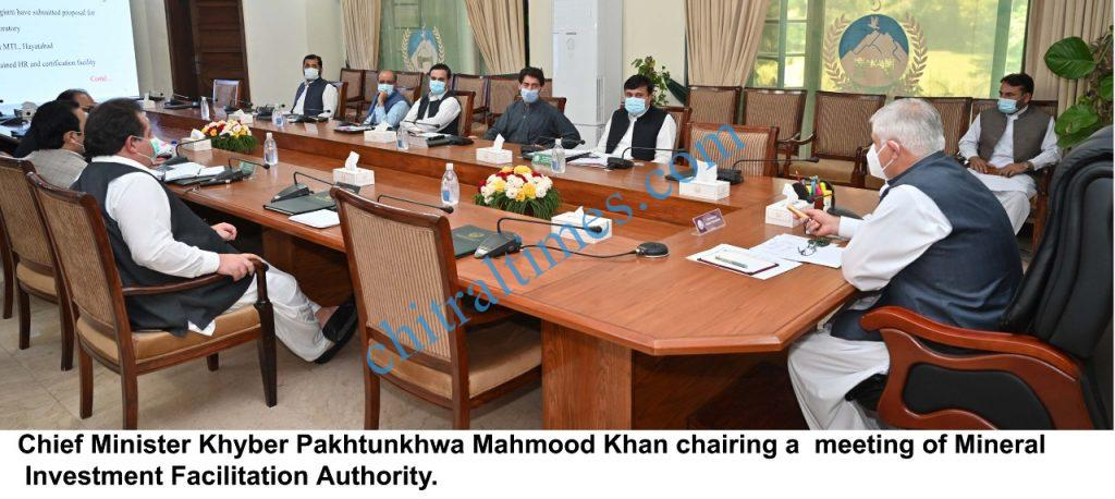 CM kp chaired mineral investment facilitation authority meeting scaled