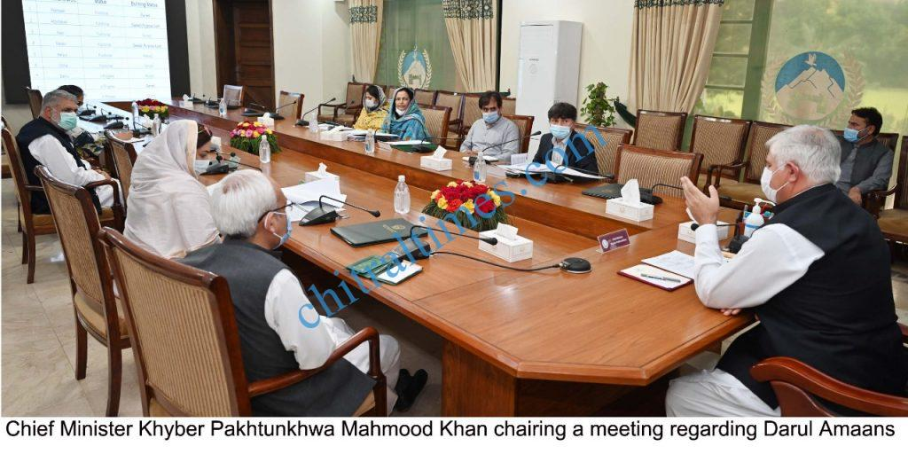 CM chaired meeting on Darul Amaans scaled