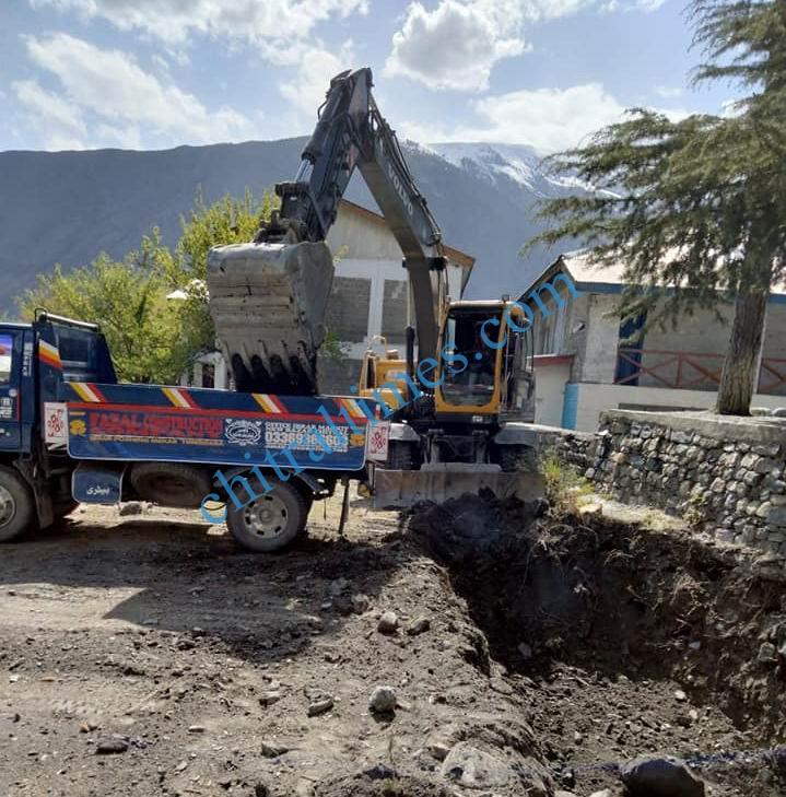 bs class rooms gdc chitral construction starts3