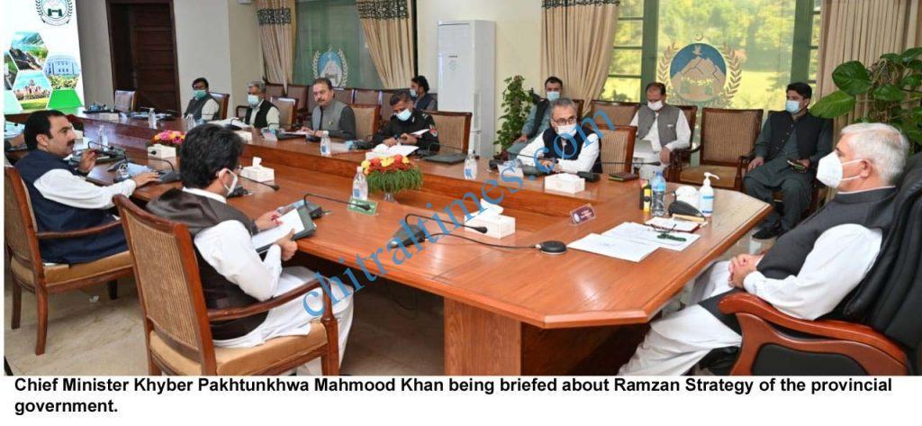 chief minister kp mahmood khanchairedramzan strategy scaled