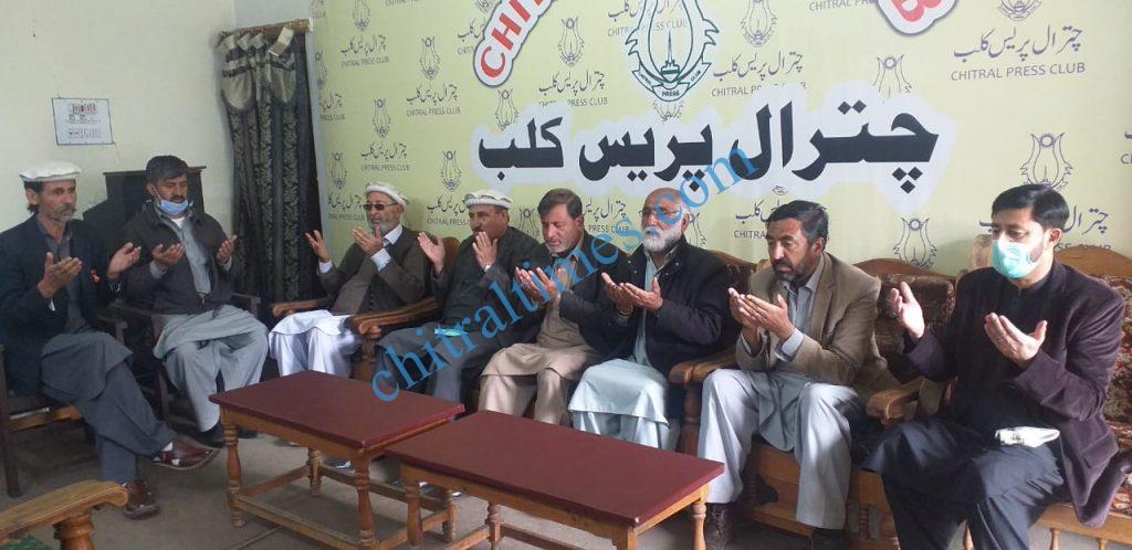 chitral press club taziati ijlas for zia shahid scaled