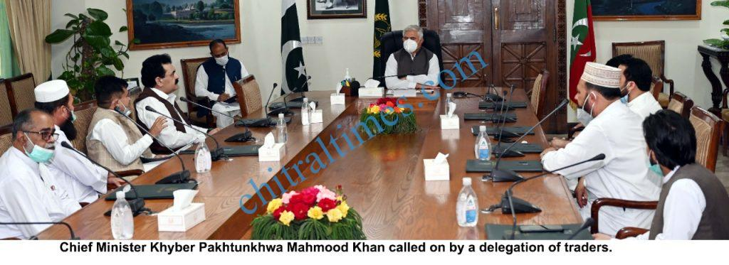 cm kp chaired meeting traders delegation scaled