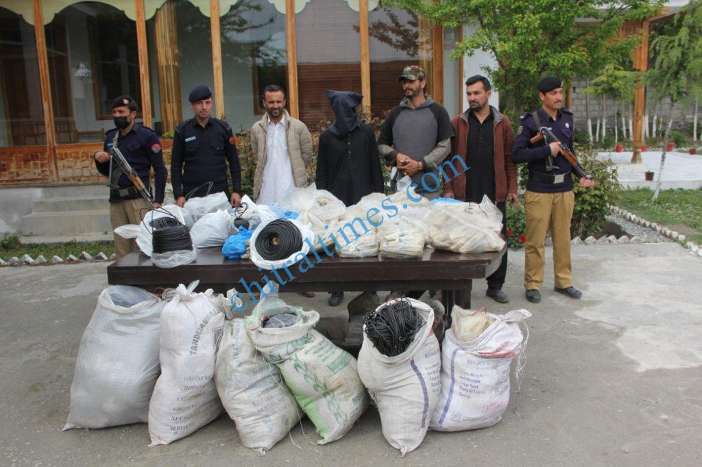 explosive recovered chitral police scaled