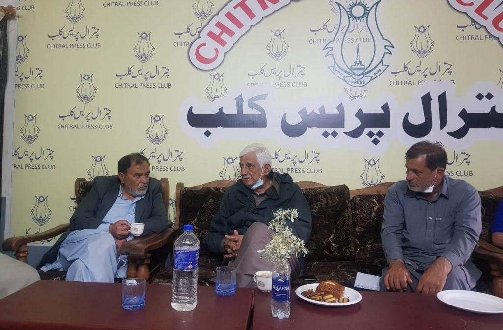 Senator taj hider chitral visit pressclub scaled