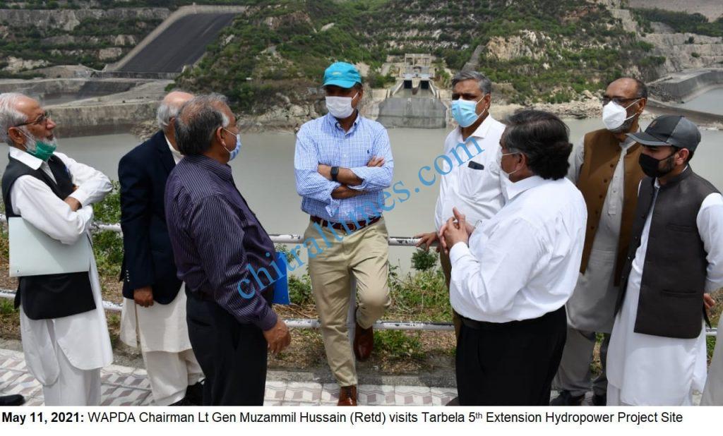 chairman wapda visit tarbila dam extension project scaled