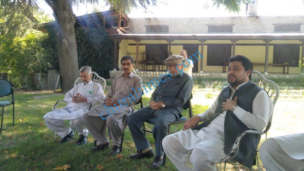 chmaber of commerce chitral meeting with kpzc l scaled