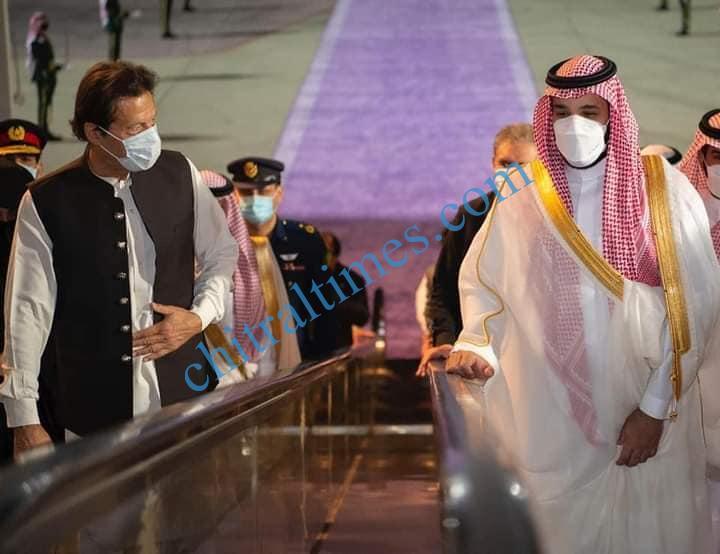 imran khan saudi arab visit