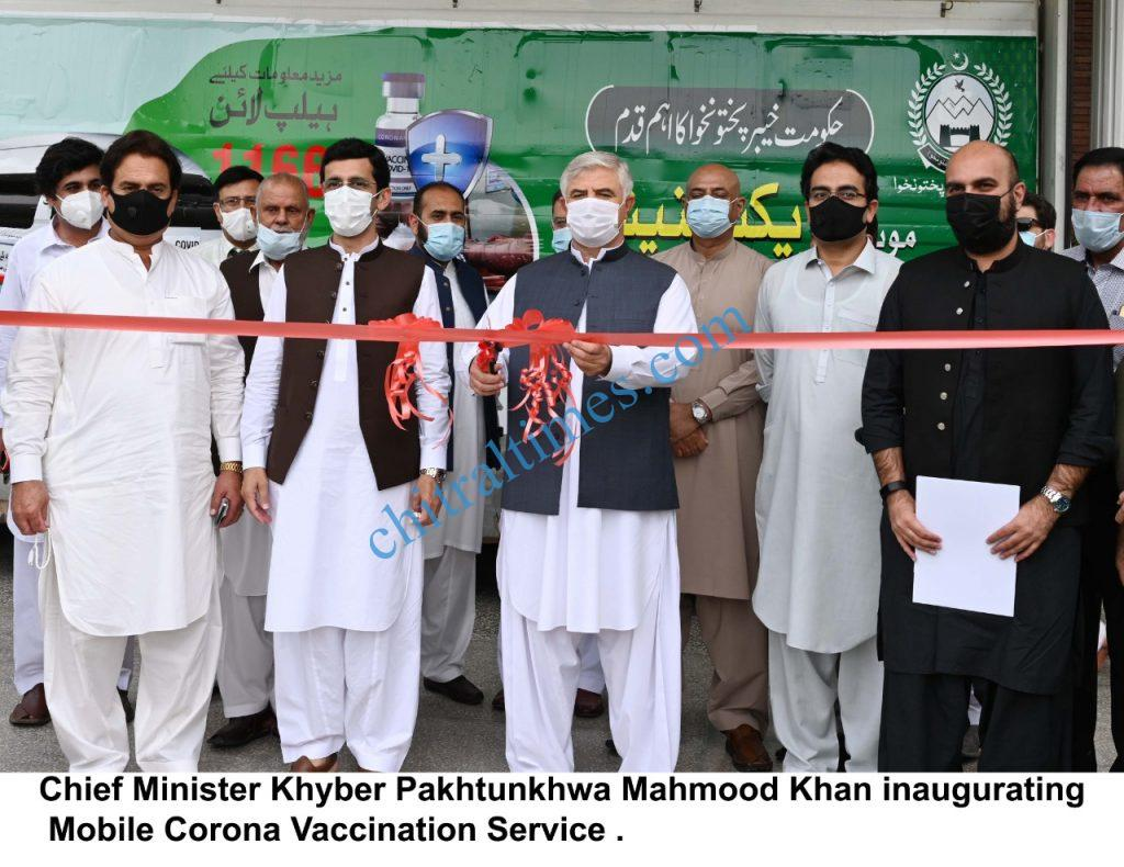 mobile corona vaccination service inaugurated in kp scaled
