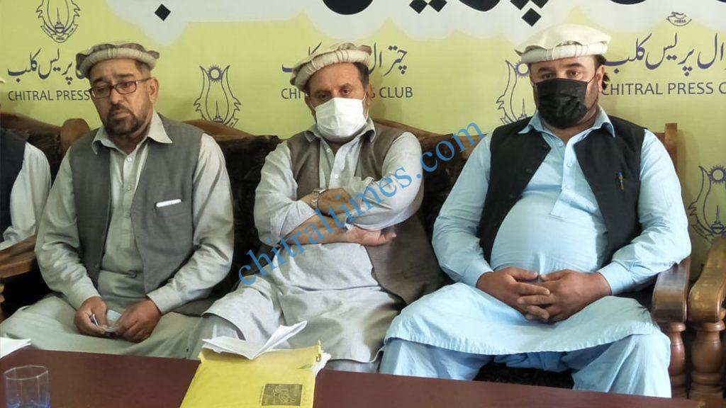 tujjar union chitral press confrence shabir scaled