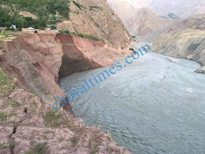 Reshun erosion